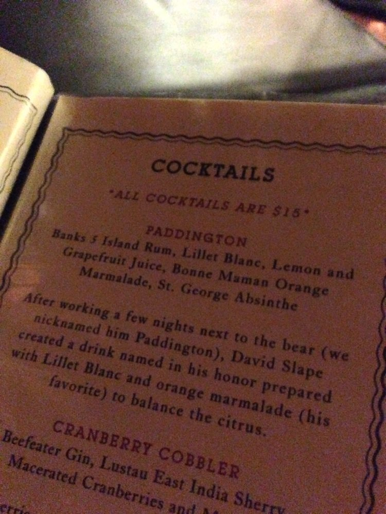 PDT Cocktails